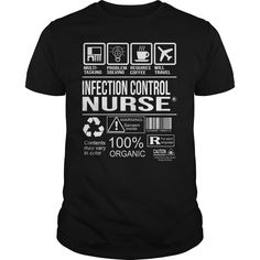 Awesome Tee For Infection Control Nurse T-Shirts, Hoodies. GET IT ==► https://www.sunfrog.com/LifeStyle/Awesome-Tee-For-Infection-Control-Nurse-105229397-Black-Guys.html?id=41382