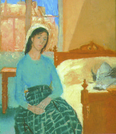 The Artist in her Room, Paris, by Gwen John on Curiator, the world's biggest collaborative art collection. Gwen John, Mary John, French Paintings, Classic Paintings, Beautiful Paintings, Painting Courses, Portraits, Portrait Paintings, Portrait Art