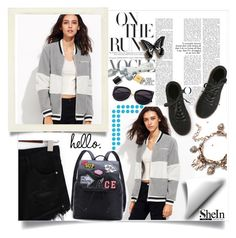 """shein"" by perfex ❤ liked on Polyvore"