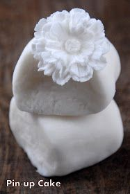 PIN - UP CAKE: Biała masa cukrowa (lukier plastyczny)