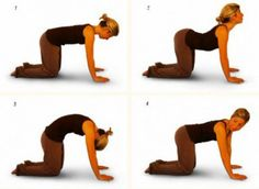 This exercise is good for quick pain relief from backache.