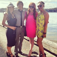 #TeamSocial at #MelbourneCup 2013 #MelbCup #CupDay #RaceDay