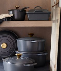 When it comes to food, the French have it all figured out—their culinary philosophy laid the foundation for the rest of us ('cuisine' is a French word, after all). Our handy guide helps you stock your kitchen with essentials, from stockpots and skillets to Dutch ovens and sauce pans. Soon you'll be braising and sauteing like a pro. #crateandbarrel #bakeware #baking