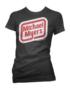 Rather Than Waste All Of That Fresh Meat, Michael Went Into Business Selling His 100% Organic All Natural Hot Dogs And Lunch Meats. And We Love Him For That!!! http://www.aesoporiginals.com/product/michael-myers-oscar-mayer-logo-tee-shirt     Available as a racer back Tank Top, Baby Doll T-Shirt or Mens Tee Shirt   Aesop Originals brings you the hottest designs from the Streets. We love Tattoos, Skateboarding, and any extreme sport or rockin' beat.