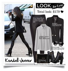 """""""Look For Less: Kendall Jenner"""" by elske88 ❤ liked on Polyvore featuring River Island, MANGO, Uniqlo, LookForLess, mango, RiverIsland, kendalljenner and BlackFive"""