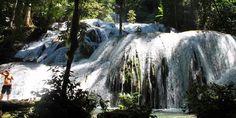 Waterfall Saluopa at Poso, Sulawesi Tengah.
