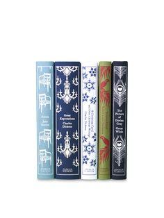 Penguin Classics (Set of 5) - Gilt Home