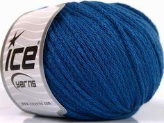 Limited Edition Fall-Winter Yarns Kışlık Yün Worsted Zincir Mavi  İçerik 50% Yün 50% Akrilik Brand Ice Yarns Blue fnt2-51479