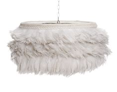 White Feather Lamp, Grace & Blake