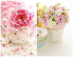 Romantic pieces to style your table Visit the link - these pieces are for sale