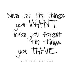 Contentment & Gratitude