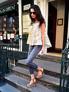 Amal Clooney out and about in New York, April 2015.
