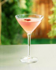 Cotton Candy Martini  (2 ounces raspberry flavored vodka    1 ounce Chambord liqueur    splash of Grenadine    splash of Champagne, Prosecco or club soda for some fizz)