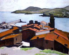 Vue de Collioure / Albert Marquet - 1912