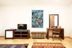 #double #room #unique #furniture #accommodation #hotel #Belgrade