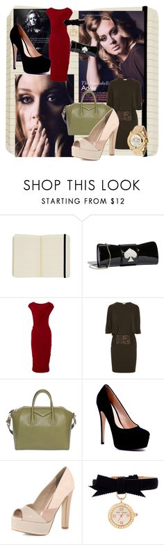 """7"" by lo2lo2a ❤ liked on Polyvore featuring Cavallini & Co., Kate Spade, Donna Karan, Michael Kors, Givenchy, Dorothy Perkins, Glam Rock, Betsey Johnson and adele"