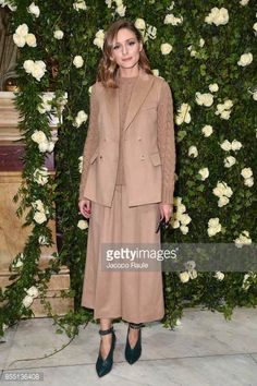 Olivia Palermo attends the Balmain show as part of the Paris Fashion Week Womenswear Spring/Summer 2018 on September 28 2017 in Paris France
