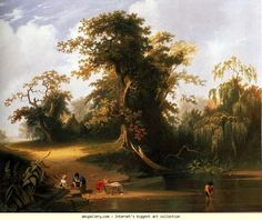 George Caleb Bingham. Landscape: Rural Scenery.
