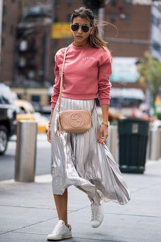 Street style New York Spring/Summer 2017 / Photo: Imaxtree