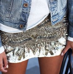 Jewels & denim.