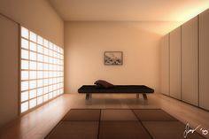 Japanese interior by darktype d35ztf9