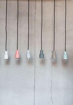 KULØR ceramics - porcelain lamps by Sabrina Kuhn
