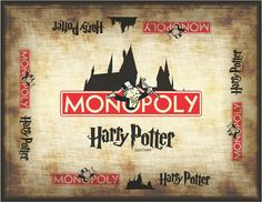 Collett Creative | How to Make Harry Potter Monopoly