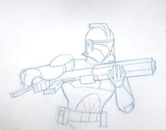 Drawing Stars, Star Wars Drawings, Star Wars Facts, Galactic Republic, Robot Concept Art, Star Wars Clone Wars, Clone Trooper, Star Wars Characters, Character Design References