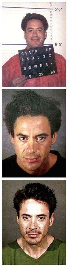 Which celebrities have been arrested in metro Phoenix?
