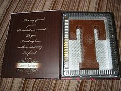 Personalized Valentine's Day Gift made of chocolate wrapped in a poem.