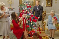 Prince George will celebrate his first Christmas at Sandringham with the Royal family as well as his grandparents Carole and Michael Middlet...