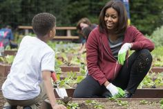 Michelle Obama pushes for an executive order to preserve White House garden | New York Post  Michelle Obama wants one thing set in stone before she leaves the White House — her beloved garden. The first lady has already taken steps to preserve her fruitful green space, purchasing a stone p…