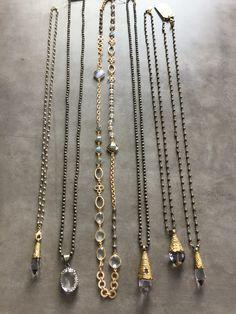 Jewelry Necklace Making Jewelry Show, Jewelry Gifts, Jewelry Accessories, Jewelry Design, Jewelry Making, Jewelry Pouches, Bohemian Jewelry, Beaded Jewelry, Vintage Jewelry