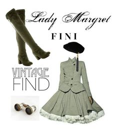 """Lady Margaret"" by fini-i ❤ liked on Polyvore featuring Yves Saint Laurent and Nature Breeze"