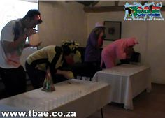 Trafalgar Minute to Win It Team Building Bellville Cape Town Team Building Events, Team Building Activities, International Games, Minute To Win It, Cape Town, Fun, Hilarious