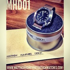 Another #MHD watch ready to go off to a new home. #basel #watchmod #custom #design #mhd01