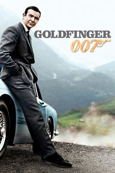 Sean Connery as James Bond in Goldfinger. This is my favorite of the Connery Bond films.