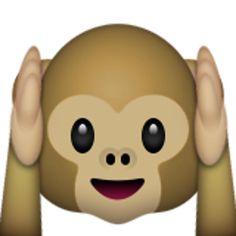 hear-no-evil monkey