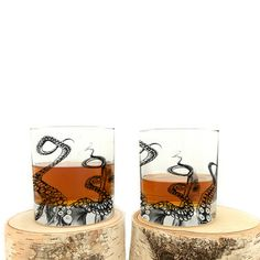 Currently inspired by: Octopus Whiskey Glass 4 Pack on Fab.com