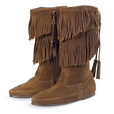 If these boots are Minnetonka brand, I want them!  GREAT PRICE AT ?45!