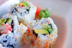 Maki version U.S avec cette recette de California rolls !