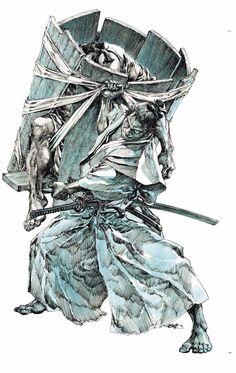 Comic Books Art, Comic Art, Art Sketches, Art Drawings, Stylo Art, Gravure Illustration, Arte Ninja, Samurai Artwork, Bristol Board