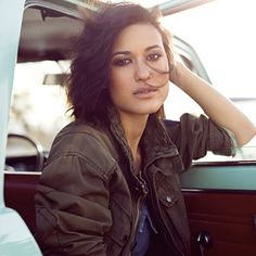 Julia Jones   She is part English, Native American (Choctaw and Chickasaw) and African-American.