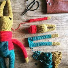 Starting Rudy Jnr - hope you're all having an ace Easter  #crochet #haken #hakeln #あみぐるみ #hekle #virka #virkning #crochetersofinstagram #instacrochet #igcrochet #crochetgirlgang #crochetaddict #crochetlove #craftastherapy #makersgonnamake #makersmovement  #madeinmanchester #indiecraft #dollmaker #handmade #amigurumi #amigurami #amigurumilove #amigurumiaddict #kawaiicrochet #rockndollstars #yarn #yarnaddict