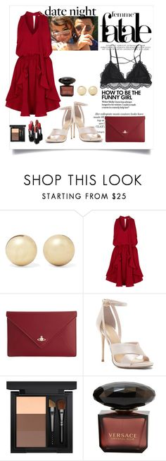 """""""Keep his interest high!"""" by kingaflp ❤ liked on Polyvore featuring GALA, Kenneth Jay Lane, Finders Keepers, MAKE UP FOR EVER, Vivienne Westwood and MAC Cosmetics"""
