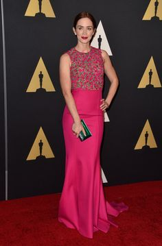 Emily Blunt Photos Photos - Actress Emily Blunt attends the Academy Of Motion Picture Arts And Sciences' 2014 Governors Awards at The Ray Dolby Ballroom at Hollywood & Highland Center on November 8, 2014 in Hollywood, California. - Academy Of Motion Picture Arts And Sciences' 2014 Governors Awards - Arrivals