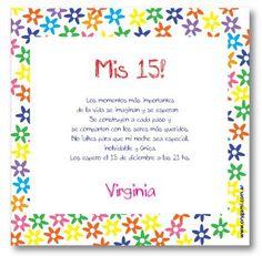 Invitaciones de 15 años www.orygami.com.ar