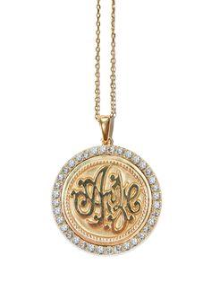 Anzie - Monogram Initials - Gold