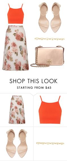 """""""Untitled #170"""" by mindongalsxy ❤ liked on Polyvore featuring Miss Selfridge, Topshop, Zara, Maria Francesca Pepe and Tory Burch"""