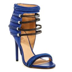 Coming SoonLAMB Katelyn heeled sandal Amazing cobalt blue with black detailing. 100% authentic leather heeled sandal. Enjoy adding this amazing shoe to your  collection at a great price. L.A.M.B. Shoes Heels